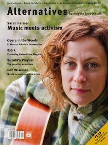 Alternatives journal - Sarah Harmer - Rocking the Environment 37.4