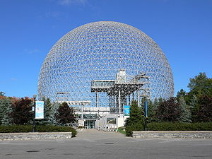Montreal Biosphère in Montreal, Canada