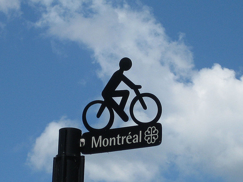 Photo: Bicycling helps make cities cool