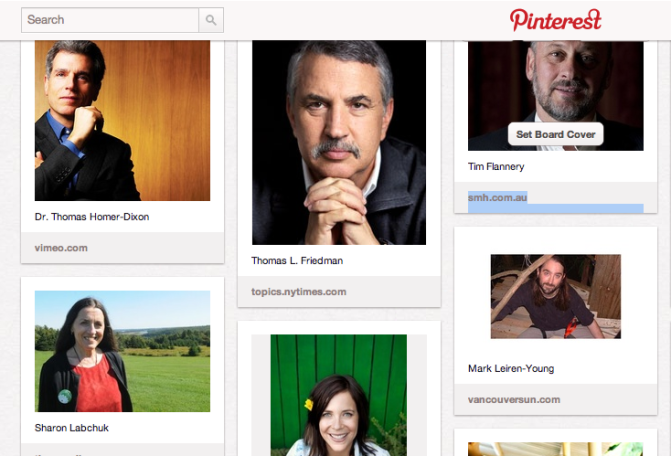 Influential people in the environmental movement