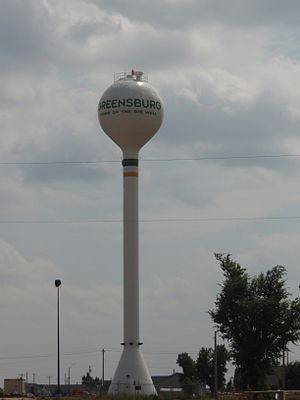 Greensburg, Kansas, Watertower (Photo credit: Wikipedia)