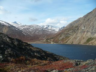Nachvak Fjord, Torngat Mountains, Labrador. (Photo via Wikipedia)