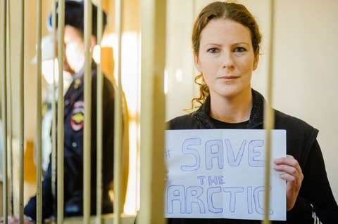 Photo: Greenpeace arrests show attempts to silence environmentalists continue