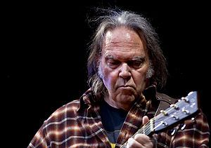 Neil Young in concert in Oslo in 2009. (Wikipedia)