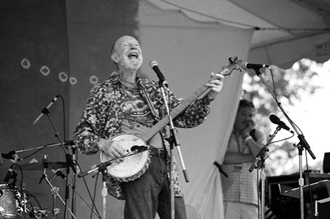 Photo: Pete Seeger: