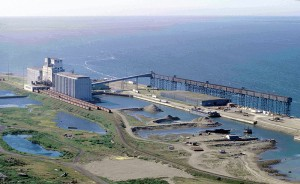 Port at Churchill, Manitoba. (Image from Wikipedia.)