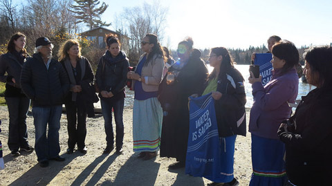 Photo: Clean drinking water should be a human right in Canada