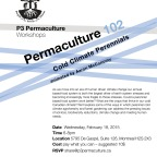 Permaculture 102: cold climate perennials
