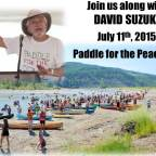 David Suzuki to join in Paddle for the Peace to stop Site C