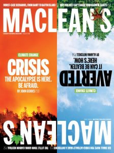 Macleans special climate change issue
