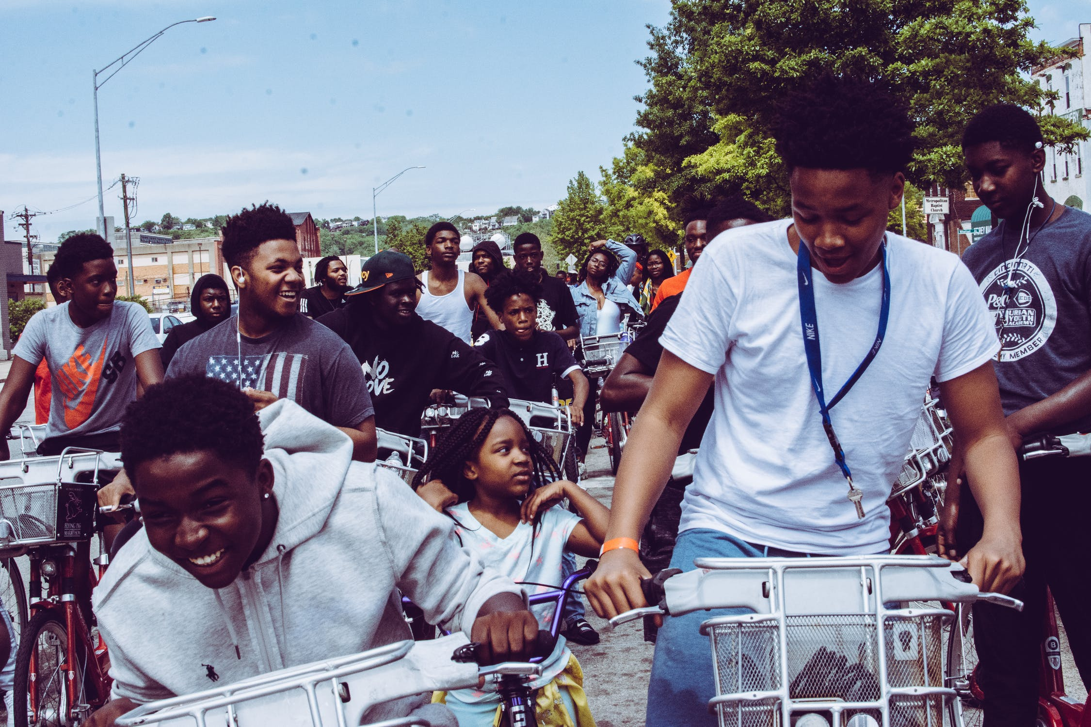 Culture of Sustainability / Threshold to create cultural change - Crowd on bicycles. Photo Ahsheal Media from Pexels