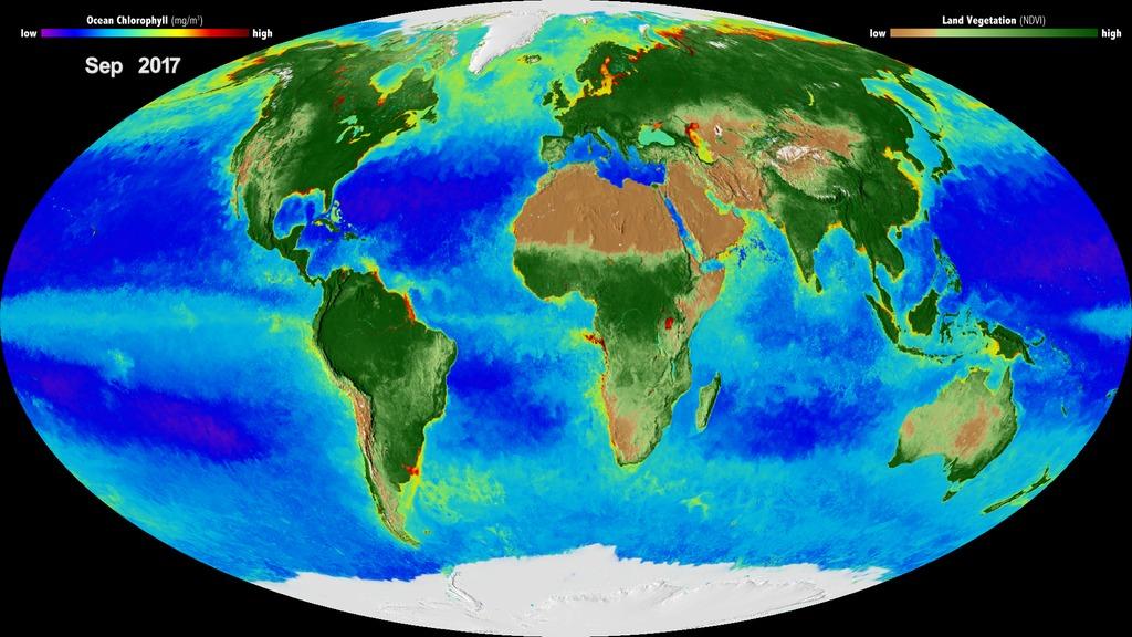 Biosphere and Us / Biosphere / Biosphere - Photo NASA (no copyright infringement intended)